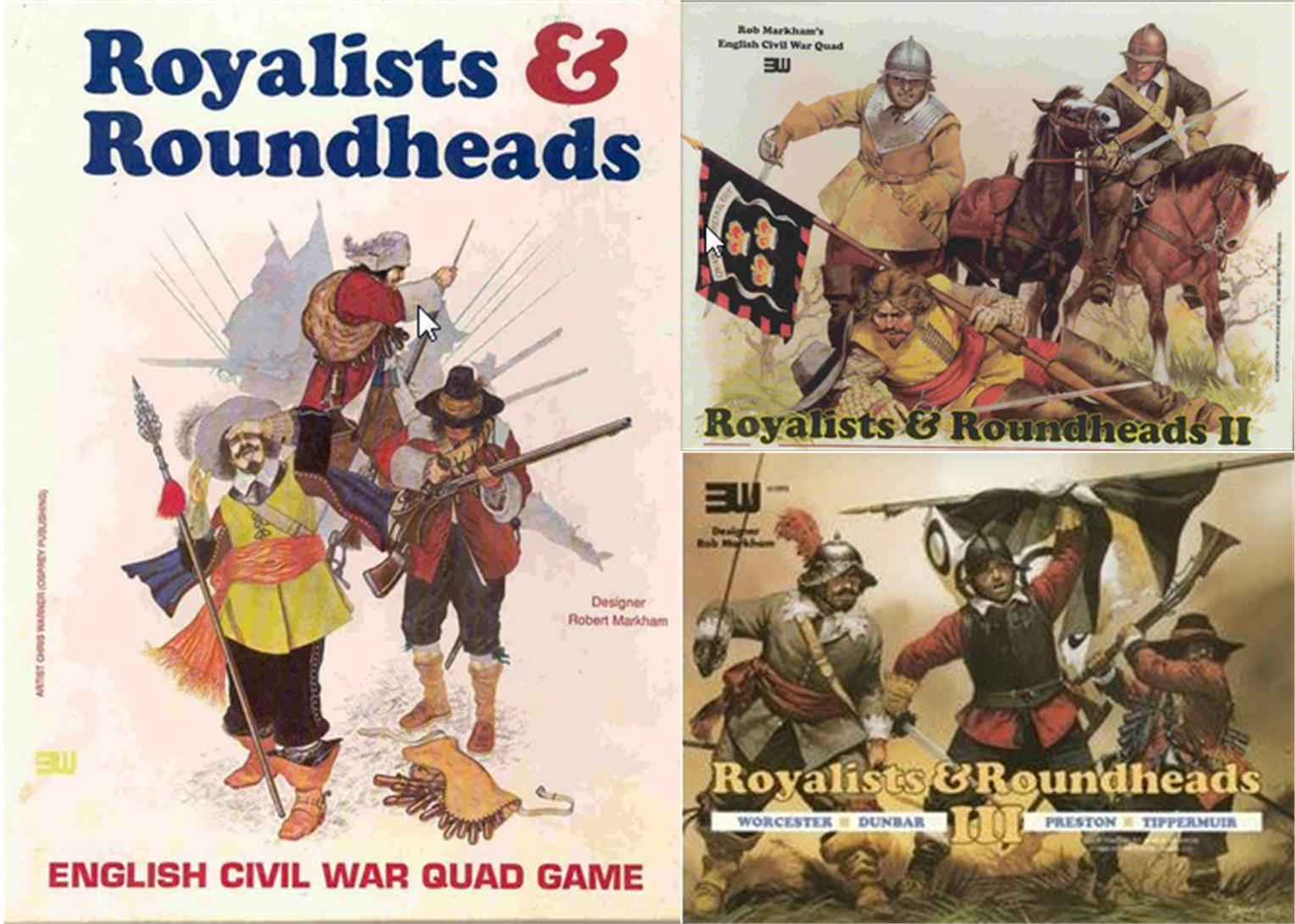 3W Royalist & Roundheads Collection - 3 Great Games