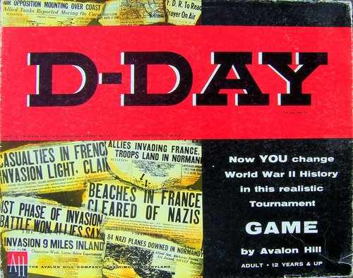 Avalon Hill D-Day Reference DVD