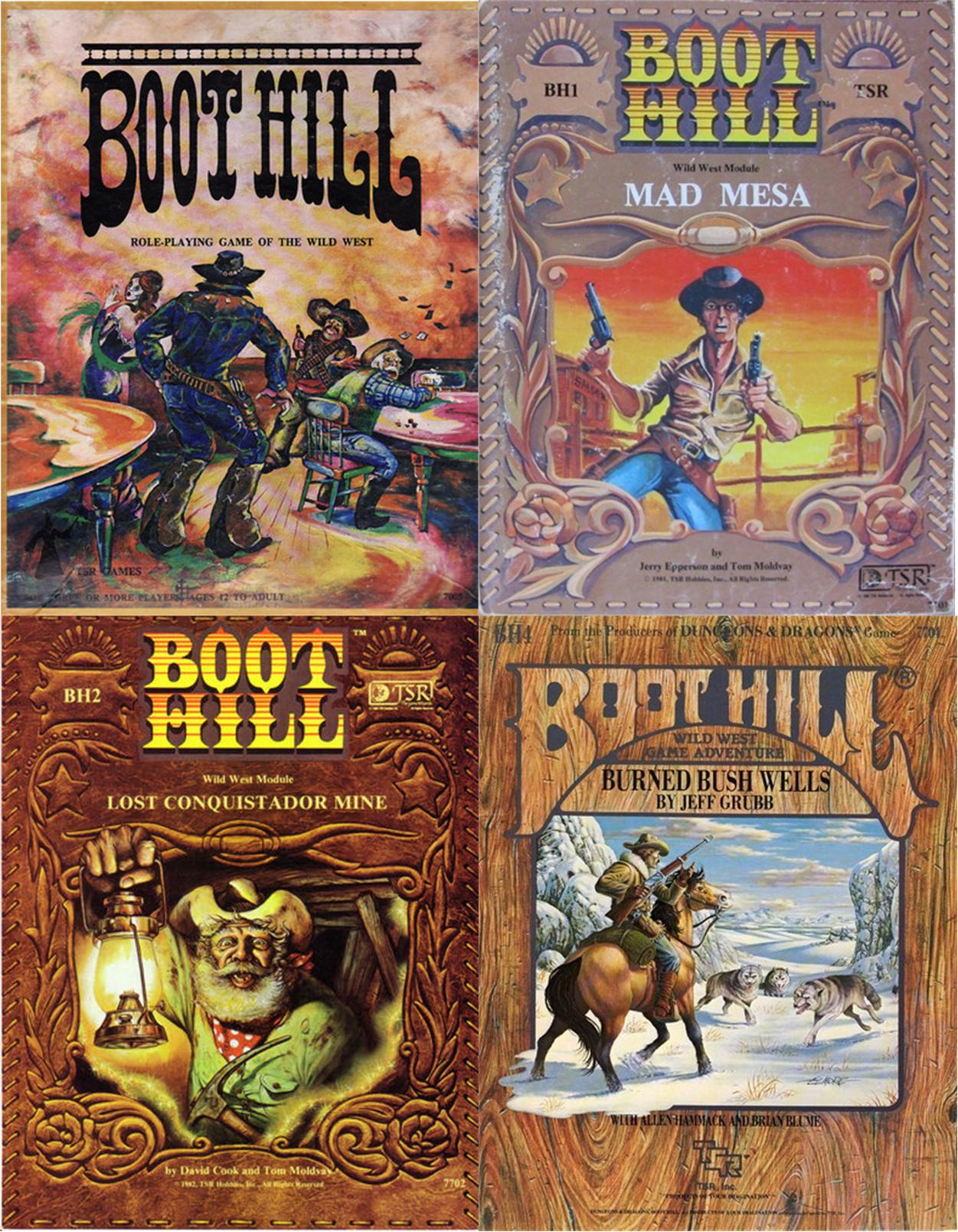Boot Hill RPG Collection