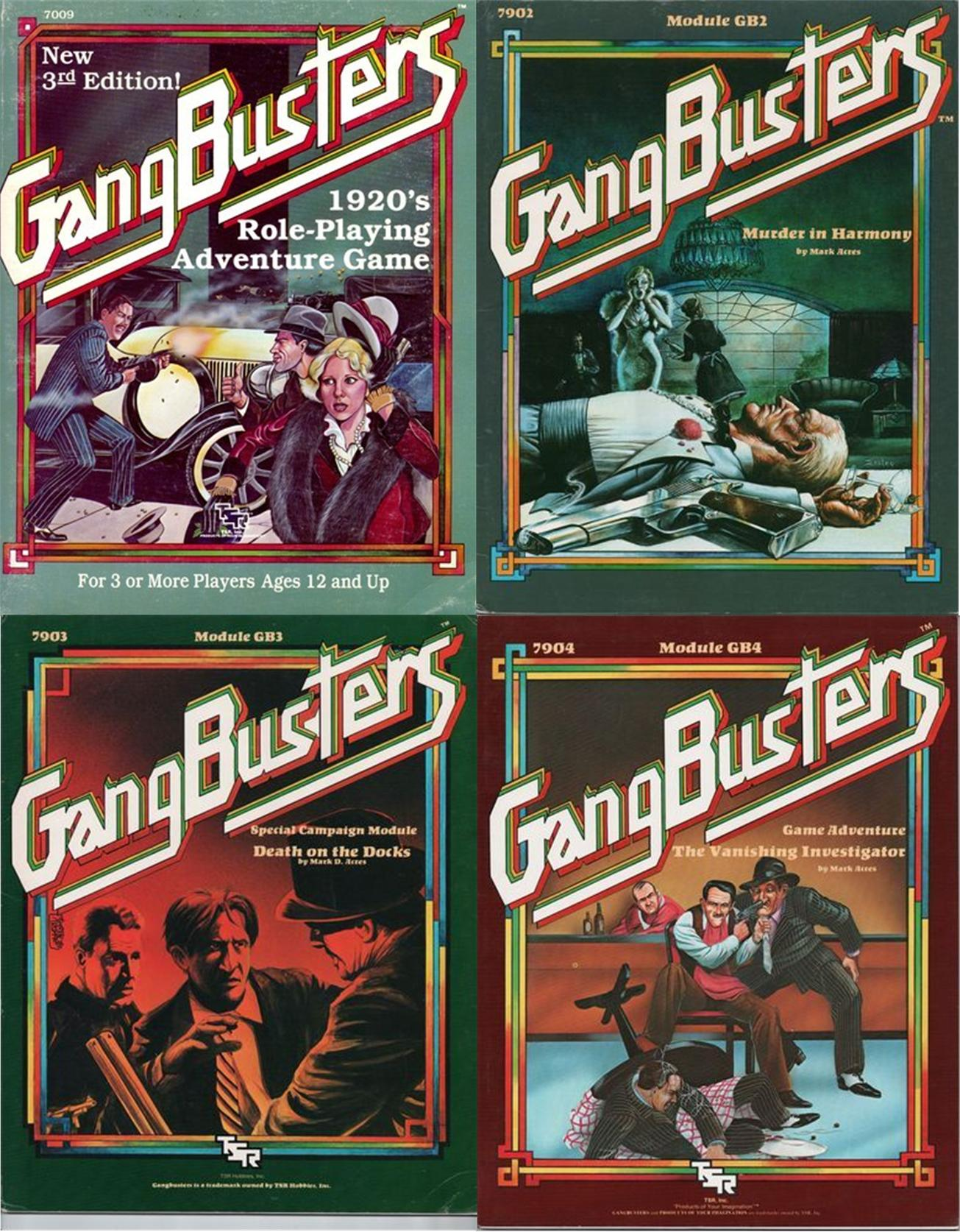 GangBusters RPG Collection Download
