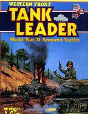 West End Games - Western Front Tank Leader
