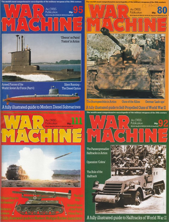 War Machine Magazine Collection